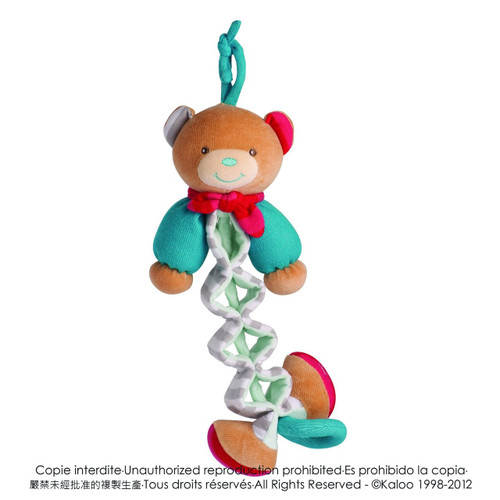 Kaloo Bliss Musical Bear Zig
