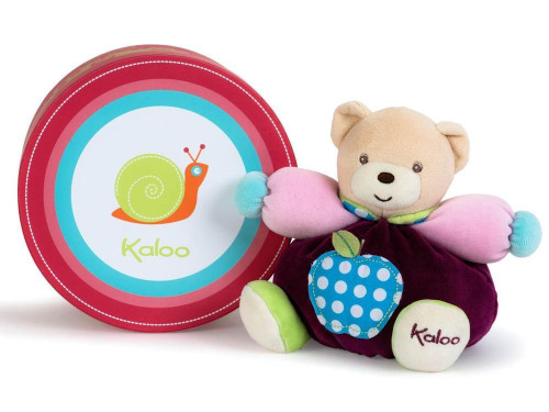 Kaloo Colors Small Bear with Apple