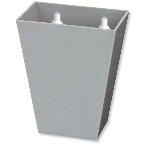 Gray Tall Plastic Cap Catcher
