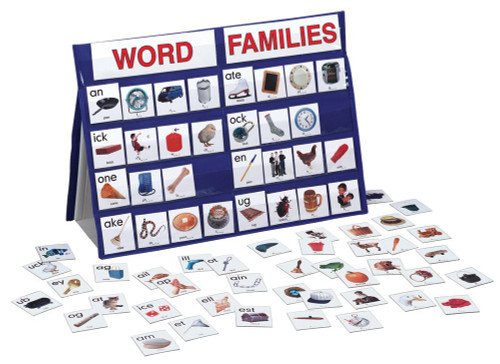 Table Top Pocket Chart Word Families