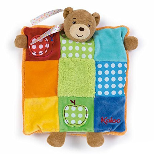 Kaloo Colors Patchwork Bear Puppet
