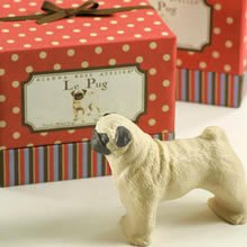 Gianna Rose Animal-Shaped Soap, Pug, 4 Oz.