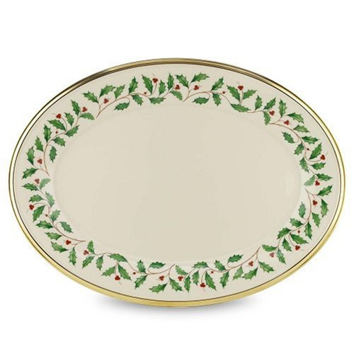 "Lenox Holiday 16"" Oval Platter"