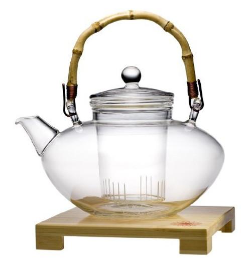 Teaposy Tea for More Glass Teapot, 48-Ounce Capacity