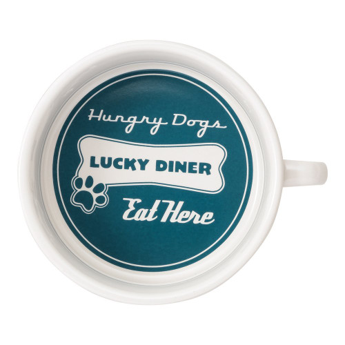 ORE Pet Lucky Diner Bowl - Blue