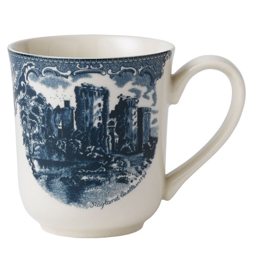 Johnson Brothers Old Britain Castles Blue Mug 12 Oz, 12 oz, Blue