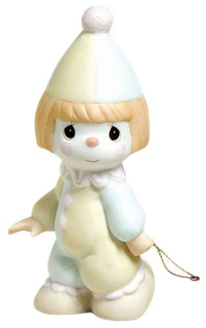"""Precious Moments, Birthday Gifts, """"Bless The Days Of Our Youth"""", Birthday Train Bisque Porcelain Figurine, #142019"""