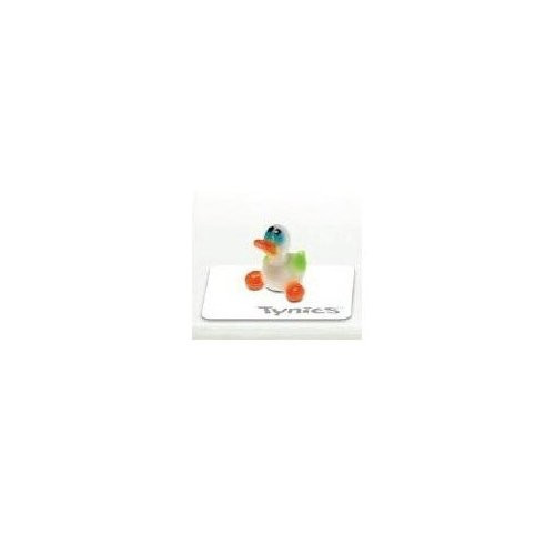 Tynies Animals Dip - Duck * Colors May Vary * Glass Figure