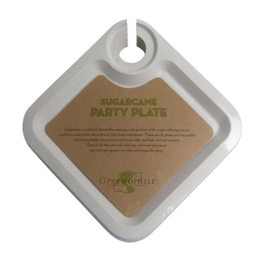 Oenophilia Sugarcane Party Plates - Set of 12