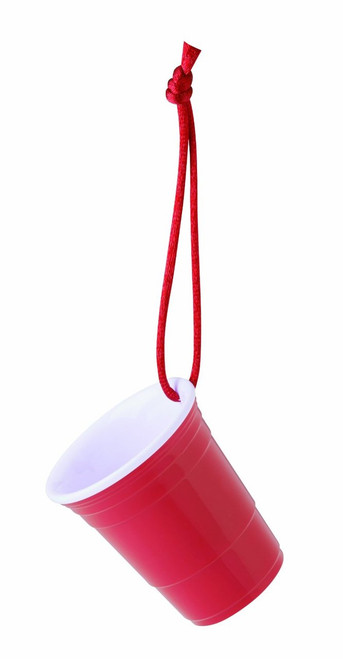 Red Cup Living Miniature Beverage Cup with Christmas Ornament