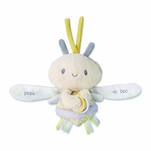Nat and Jules Plush Toy, Zippi Peek-a-boo Bee