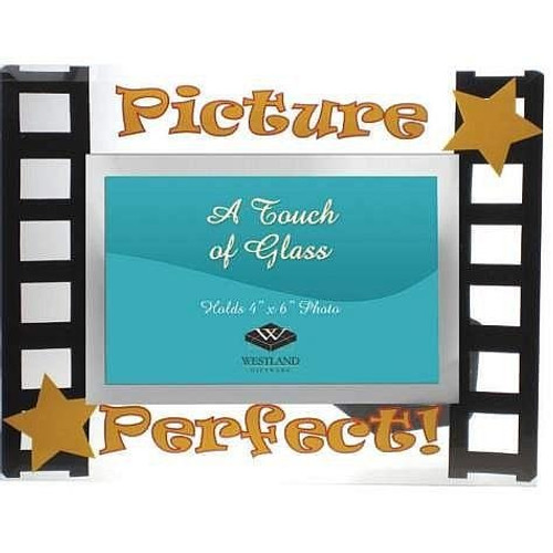 PICTURE PERFECT special event celebration glass frame - 4x6