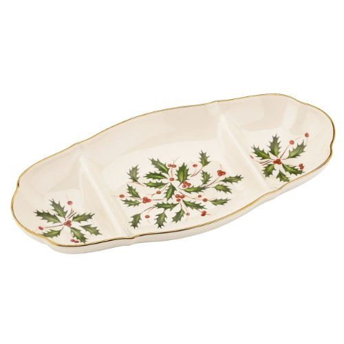 Lenox Holiday Sectioned Server