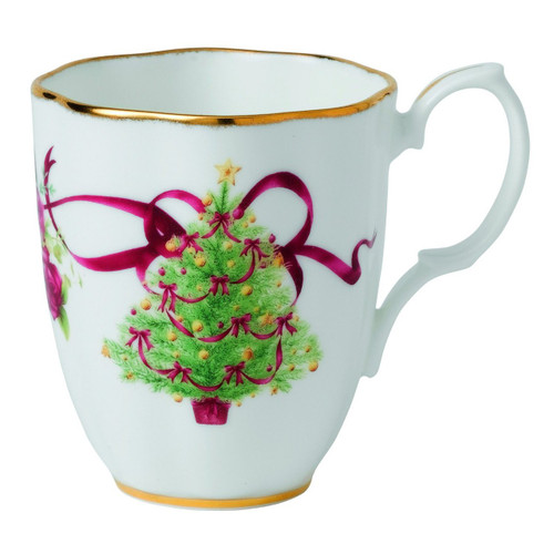 Old Country Roses Christmas Tree Mug