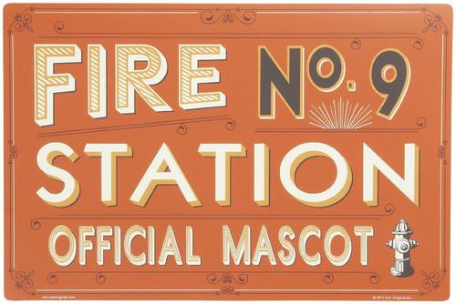 ORE Pet Fire Station No. 9 Pet Placemat