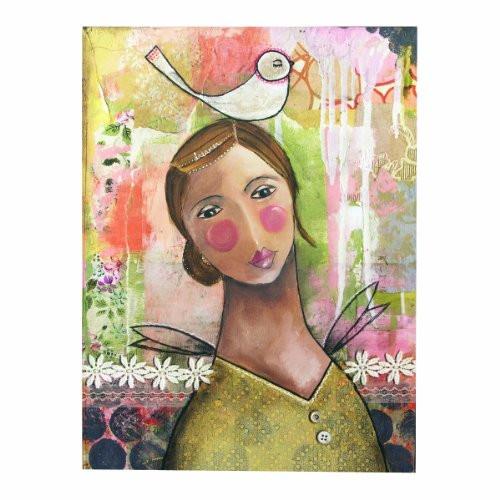 Kelly Rae Roberts Dreamer Wall Art, 18 by 24-Inch
