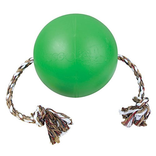 """7"""" Tuggo Water Weighted Dog Toy - Green"""