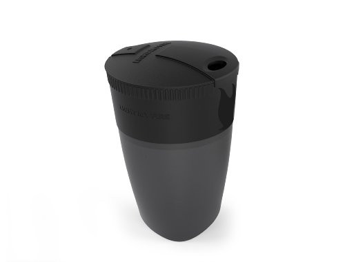 Light My Fire Collapsible Pack-Up Cup, Black