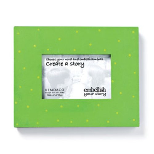 Embellish Your Story Green Magnetic Frame