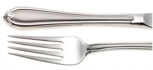 Gorham Melon Bud Frosted 5-Piece Stainless Steel Flatware Place Setting, Service for 1