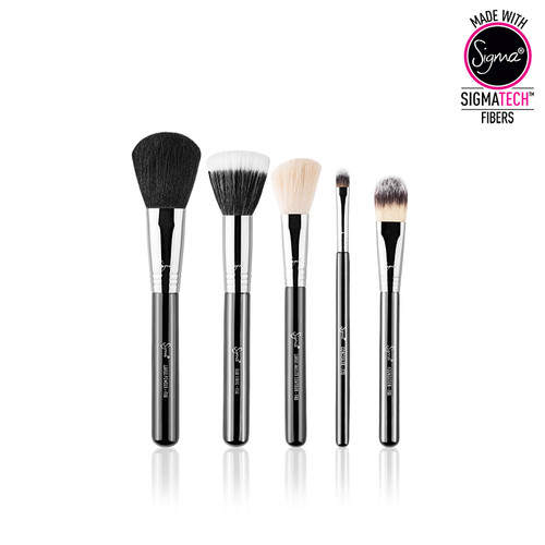 Sigma Beauty Face Kit by Sigma Beauty 5 Make Up Brush Kit