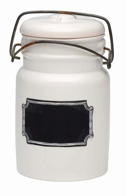 Ore Originals Living Goods Chalk-A-Doodle Ceramic Jar (Discontinued by Manufacturer)