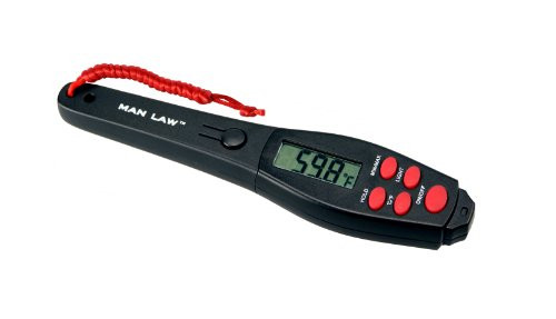 MAN LAW BBQ Digital Instant Read Gauge Thermometer, 6.7 x 1.3 x 0.6-Inch
