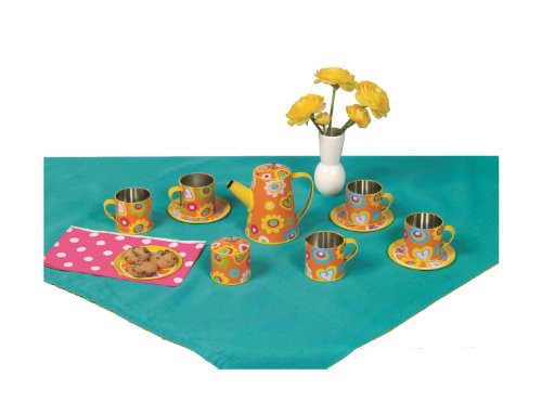 Small World Toys Living - Rise and Shine Coffee Time Metal Set