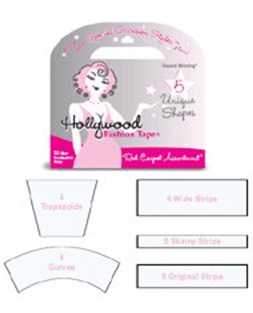 Hollywood Fashion Tape Hollywood Fashion Tape Red Carpet Assortment