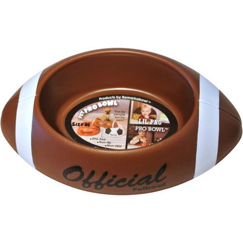 Remarkabowl Pet Pro FootBowl Pet Food Water Dish Football