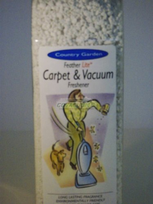 Country Garden Concentrated Carpet and Vacuum Fragrance Granules, 7oz Container.