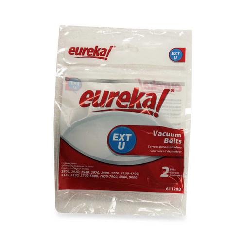 Eureka Type EXT U Vacuum Cleaner Belt, Package of 2