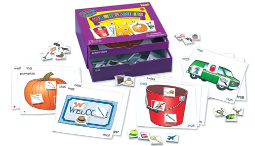 Lauri Toys Phonics Center Kit-Word Families