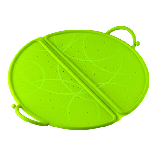 Kuhn Rikon Foldable Splatter Guard, 10-Inch, Green