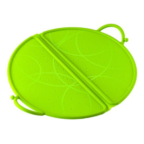 Kuhn Rikon Foldable Splatter Guard, 10-Inch, Green