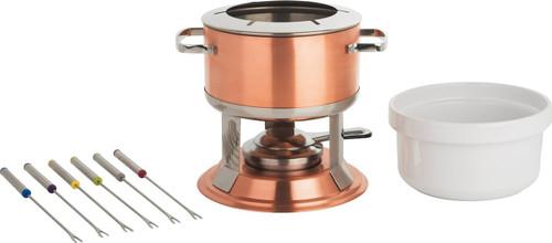 Copper-Plated Fondue Set