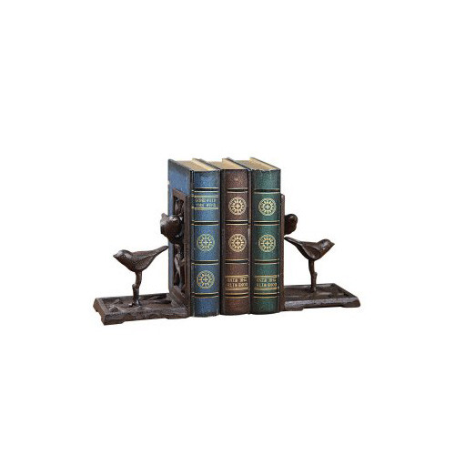 Creative Co-Op Cast Iron Bird Bookends