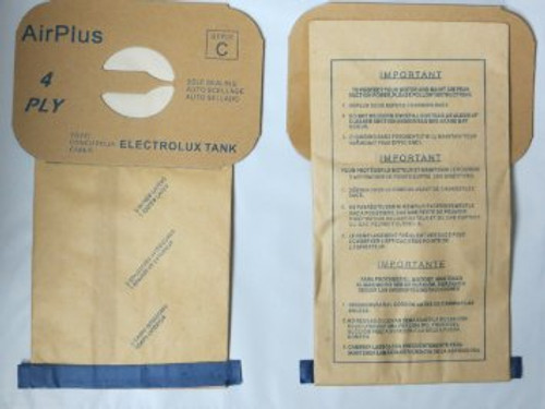 48 Electrolux Type C Tank Model Vacuum Cleaner Bags 4 Ply By Envirocare