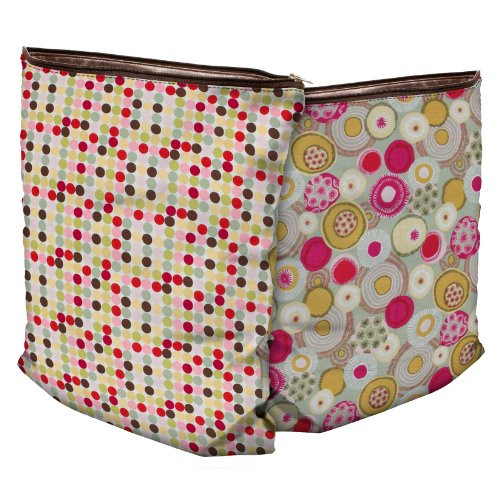 Planet Wise Diaper Wet Bag - Piccolo Dot (2 Sided) Medium