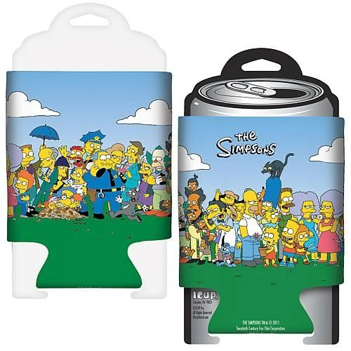 ICUP Simpsons Friends & Family Huggie/Koozie, Clear