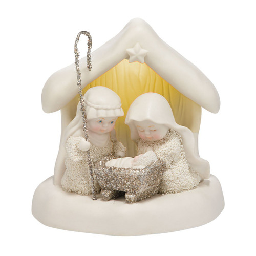 Department 56 Dream Collection Beneath The Christmas Star Figurine, 4.65-Inch