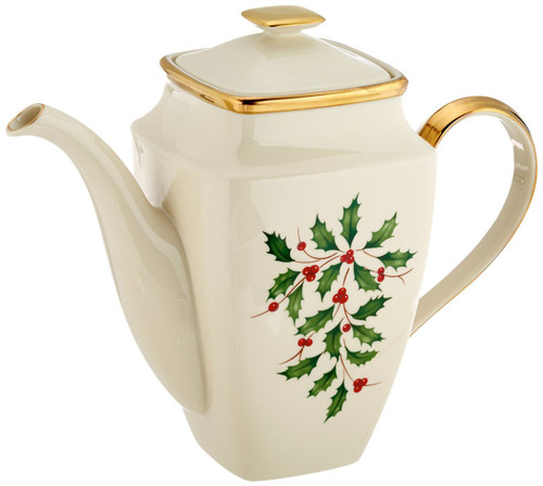 Lenox Holiday Coffeepot, Square