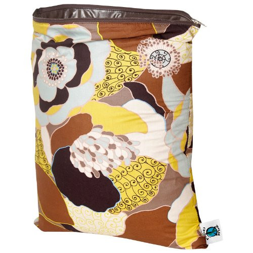 Planet Wise Diaper Wet Bag - Medium (Autumn Cafe)