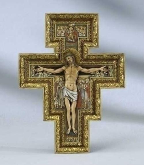 Renaissance Collection Joseph's Studio by Roman Exclusive San Damiano Cross, 10.75-Inch