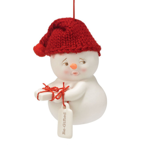 Department 56 Snow Pinions Re-Gifted Ornament, 3.25-Inch