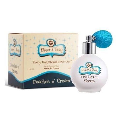 Peaches n' Cream by Pepper & Tanky for Dogs, Eau de Parfum Spray - 2 Oz