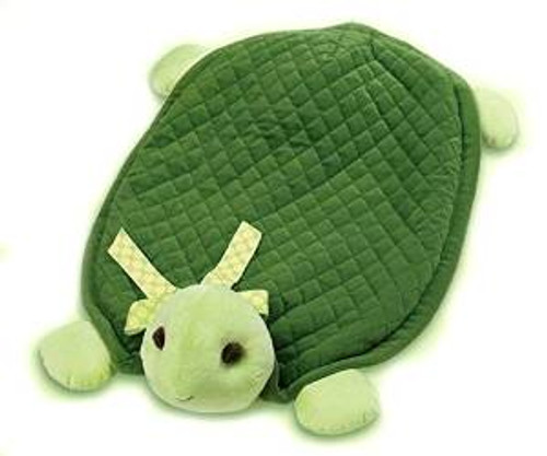 Bearington Baby Plush Belly Play Mat Tiggles Turtle