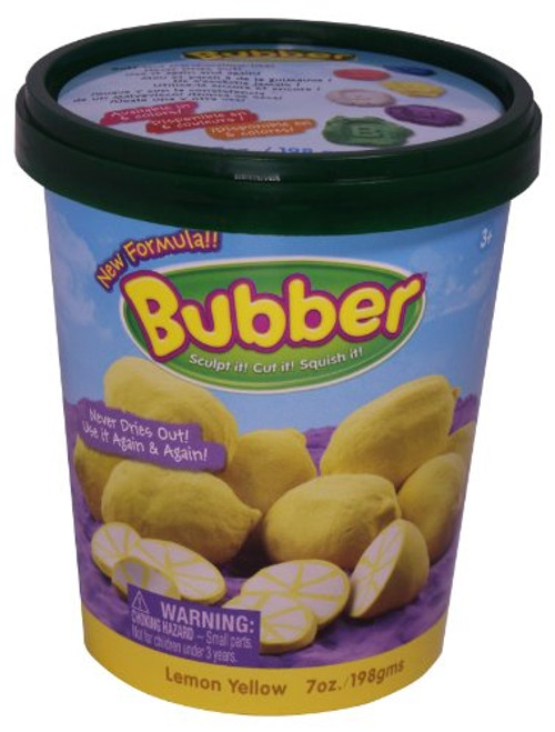 Bubber 7oz Bucket Yellow