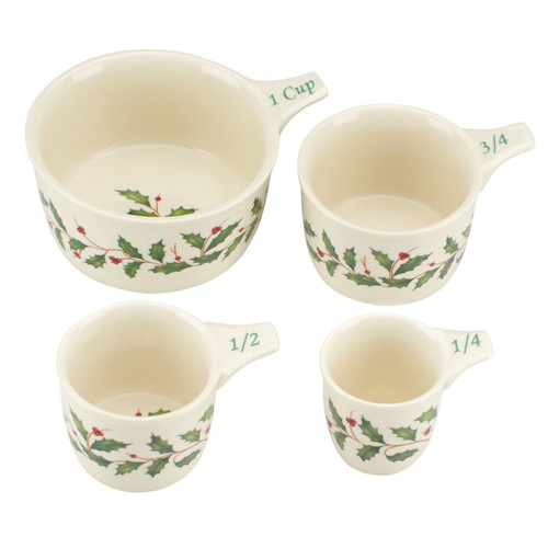 Lenox Holiday Measuring Cups