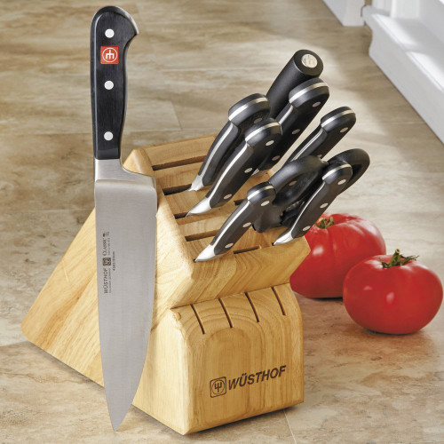 Classic 10 Piece Knife Block Set